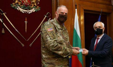 Командирът на щаба на Специалните операции на НАТО посети България