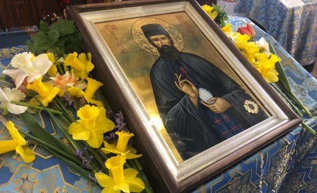 Чудотворните мощи на св. Ефрем Нови пристигат в Ямбол