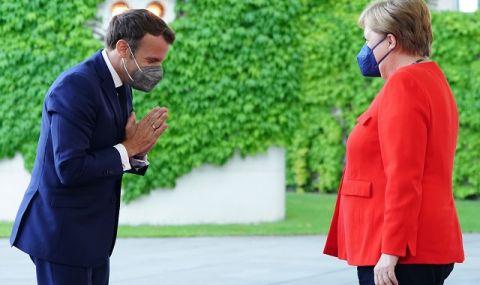Меркел и Макрон призоваха за координирано отваряне на границите на ЕС