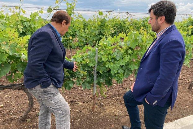 Зам.-министърът на земеделието Георги Събев – на посещение в ямболското с. Меден кладенец