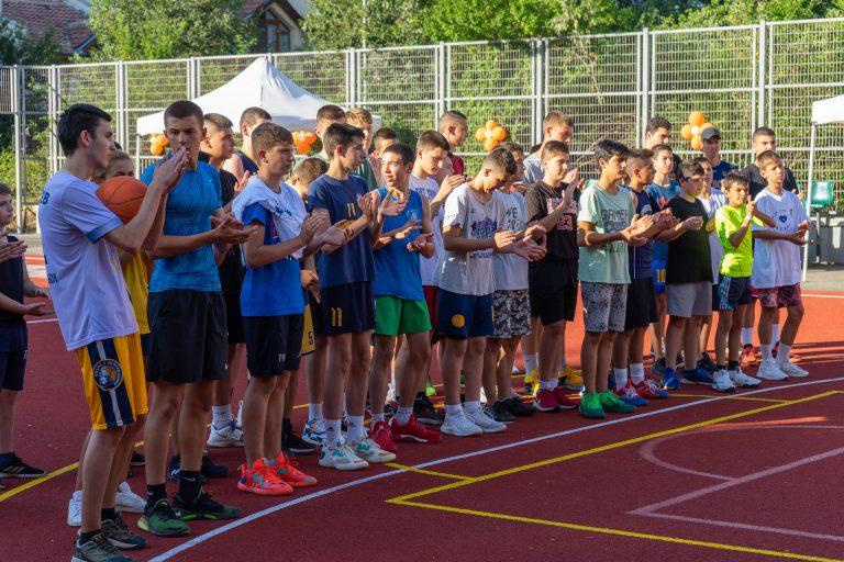"""Открита бе обновена спортна площадка в комплекс """"Гр. Игнатиев"""" в Ямбол"""