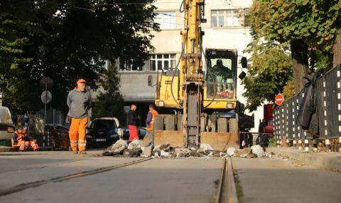 Ремонт променя движението в София